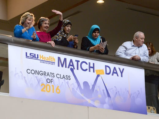 LSU Health Shreveport medical students learn their fate