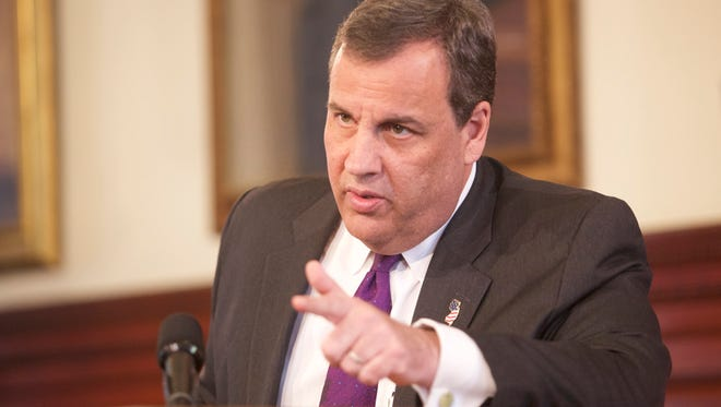 Gov. Chris Christie remained entrenched in his position about a state takeover of Atlantic City.