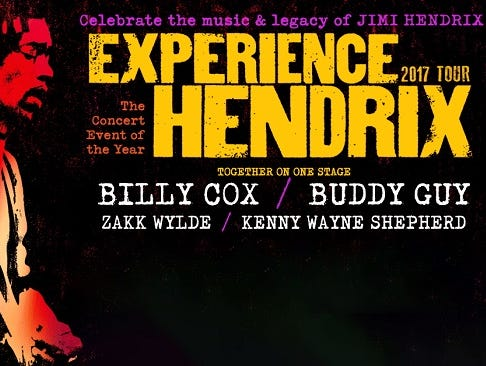 Experience Hendrix at Louisville Palace on March 19th.  Enter 2/16 - 3/14.