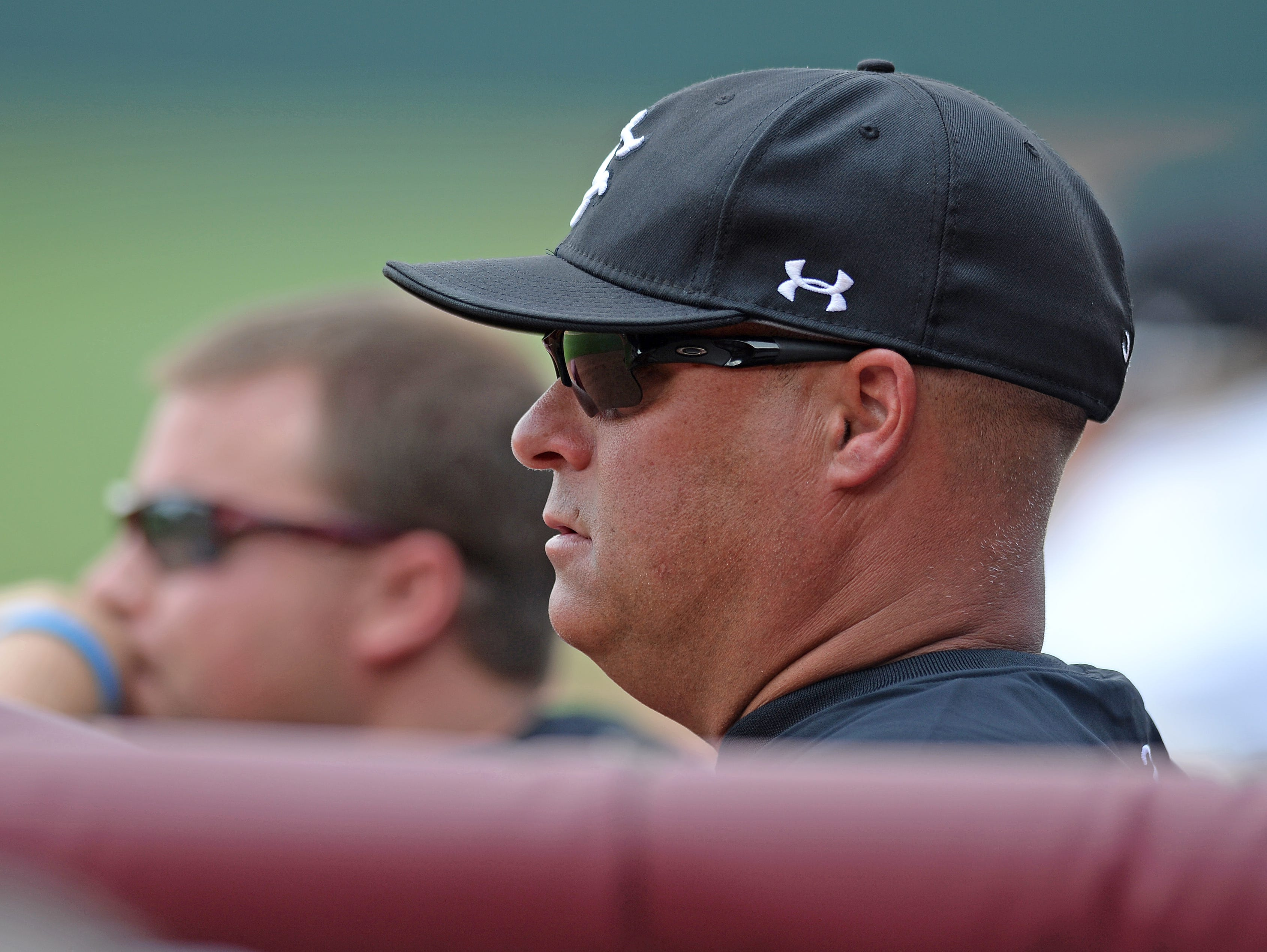 South Carolina baseball coach Chad Holbrook, shown in a file photo from 2016, believes in himself and his team despite a losing record in SEC play.