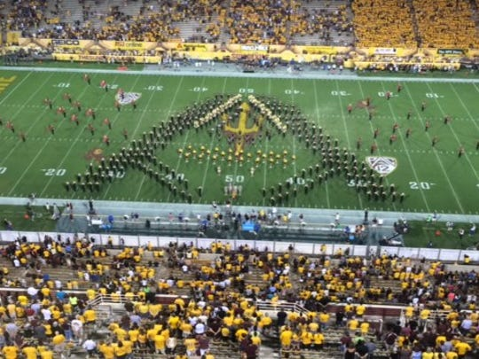 ASU marching band