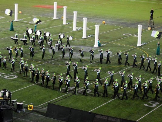 West Salem Marching Band wins Hillsboro