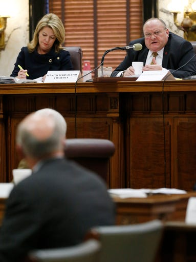 Miss. election challenge hearing | Gallery