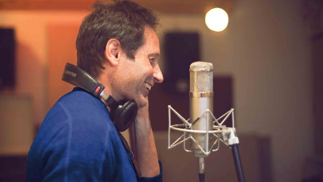 """Actor David Duchovny will release his first album, """"Hell or Highwater,"""" in May."""
