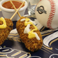 The Milwaukee Brewers will be offering nachos on a stick during game at Miller Park this season.