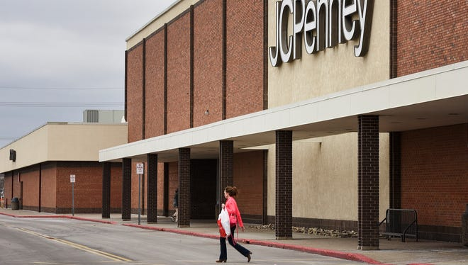 The Crossroads Center J.C. Penney store shown Friday, March 17, will remain open as stores close across the nation in a cost-cutting move.