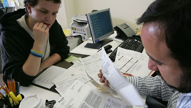 Filing taxes can be a stressful thing to do.