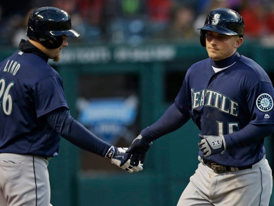 Kyle Seager, Adam Lind