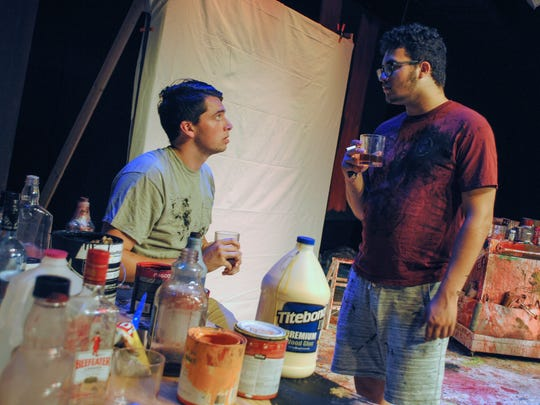 """Laszlo Almonte and Nick Martin will produce and star in """"Red"""" on June 20-22, 2018, at Eastern Florida State College in Cocoa. The show's based on Mark Rothko, an abstract expressionist painter, and his struggles with producing a mural."""
