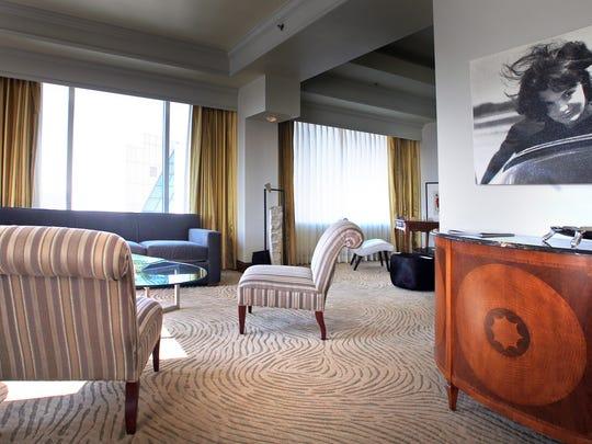 The Gallery Suite at The Conrad, $3,000,  (317) 713-5000.