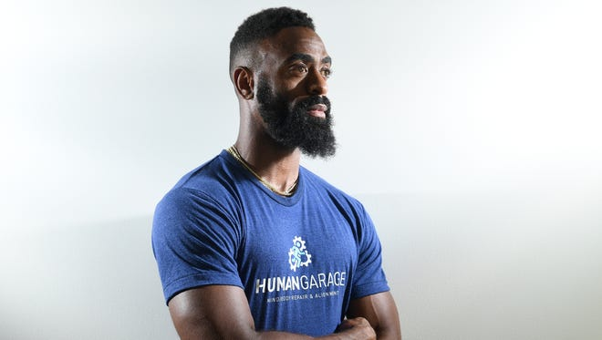 Tyson Gay is the American record holder in the 100 meters.