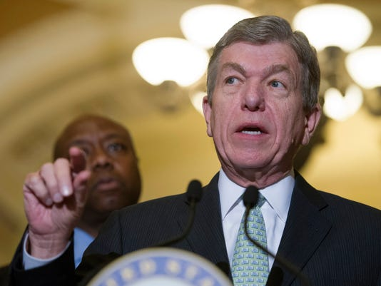 Roy Blunt, Tim Scott