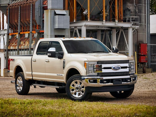 The bigger Ford F-350 led Alaska and Montana for the