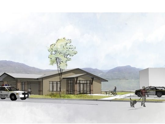 A preliminary drawing shows what a new Washington County