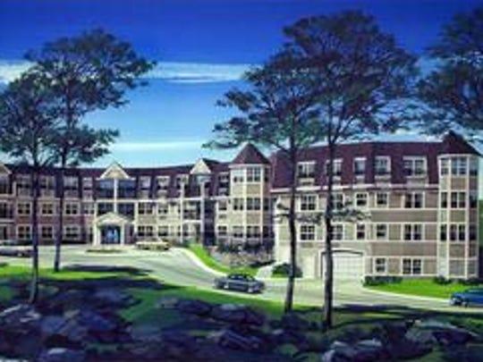 The Sutton Manor condominium complex in Mount Kisco