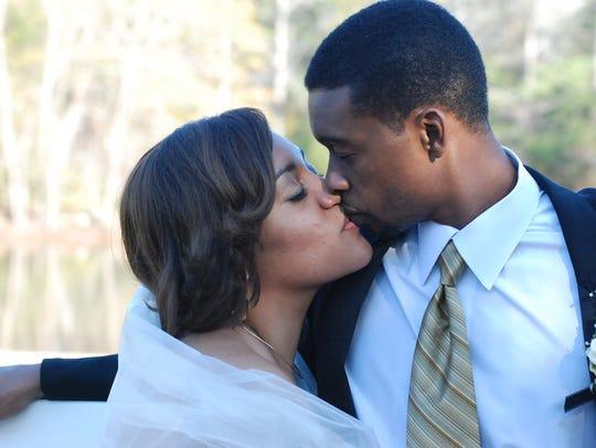 Ercilla Dometz-Hendrix and Tyrone Hendrix wed on December