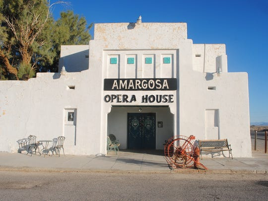 Amargosa Opera House and Hotel is a historical, quirky lodging option for those traveling to the Death Valley 'super bloom.'