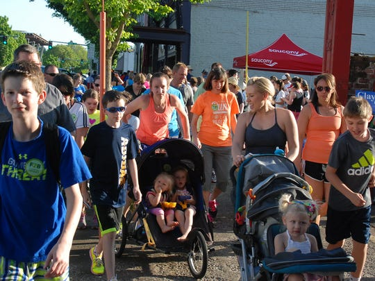 On Your Feet Friday is a community walk/run event for all ages and all activity levels.