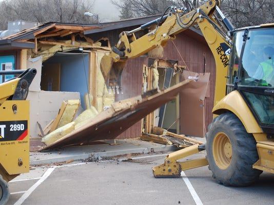 EMS demolished at LCMC