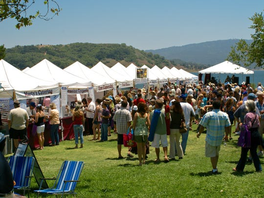 The Ojai Wine Festival takes place on the shores of Lake Casitas. The June 10 event will also feature food, beer, shopping and live music.