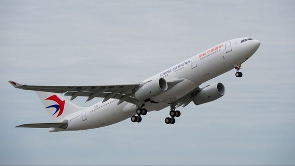 Airbus milestone china eastern takes delivery of its 50th - China eastern airlines sydney office ...