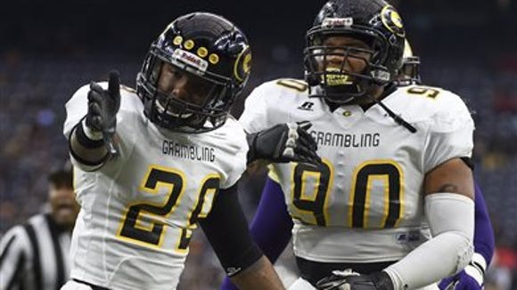 Grambling State defensive back Guy Stallworth (29) will represent the Tigers' defense Friday at SWAC Media Day in Alabama.