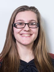 Central York softball player Courtney Coppersmith