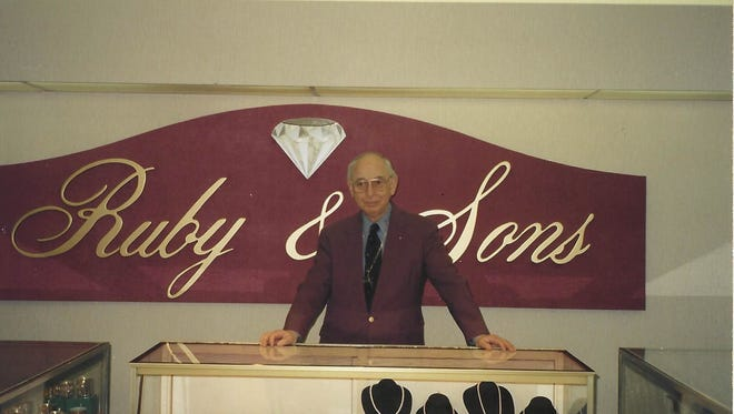 Carl Levine owned Ruby & Sons Jewelers until his retirement in 1995.
