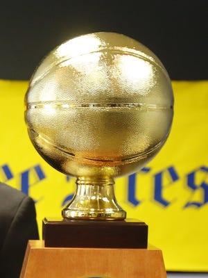 Michigan Mr. Basketball trophy