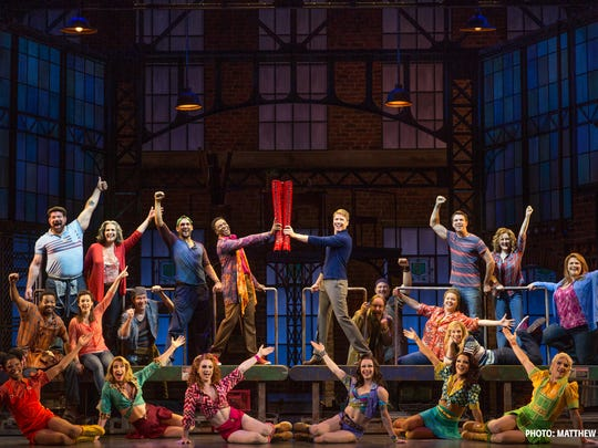 """Kinky Boots"" is based on a 2005 film of the same name."