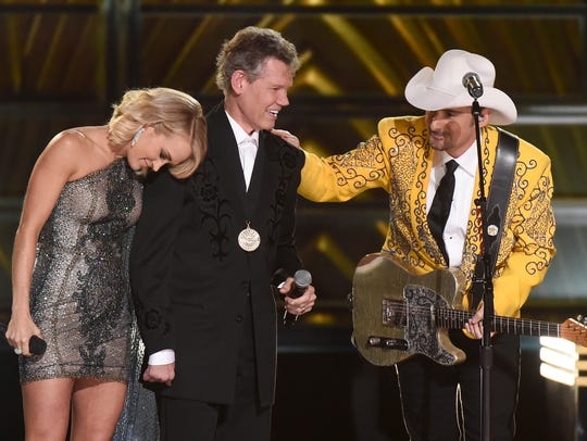 Randy Travis, who is still working to regain his power