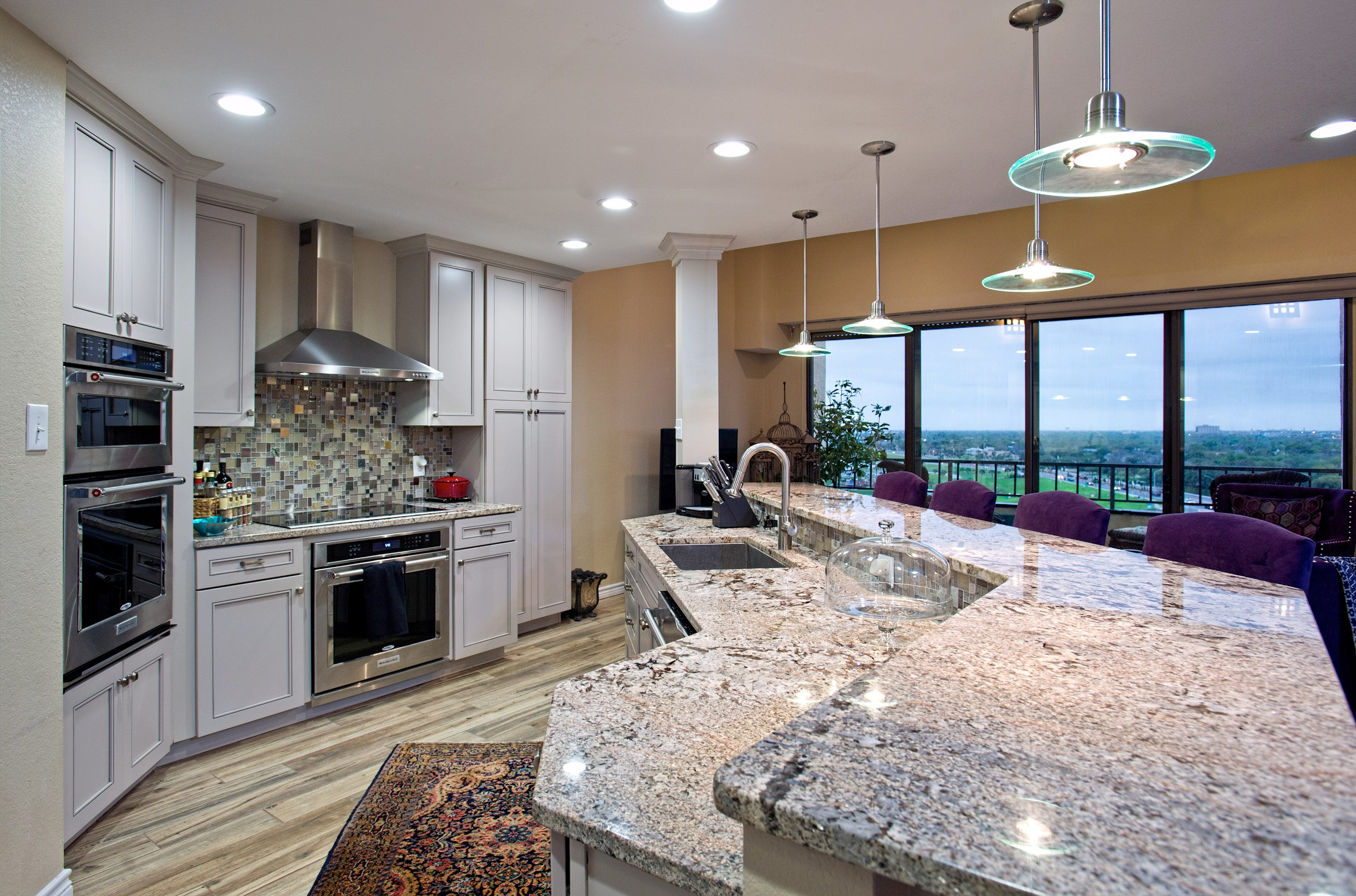 The Gourmet Kitchen Features Beautiful Granite Countertops,