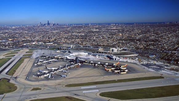 Chicago's Midway Airport marks 90th birthday