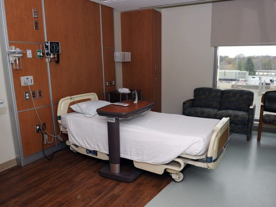 Every patient room in the new facility will be private