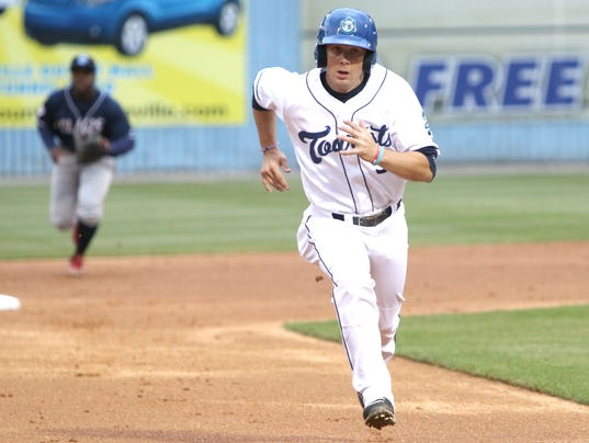 2016 Asheville Tourists vs. Lakewood BlueClaws
