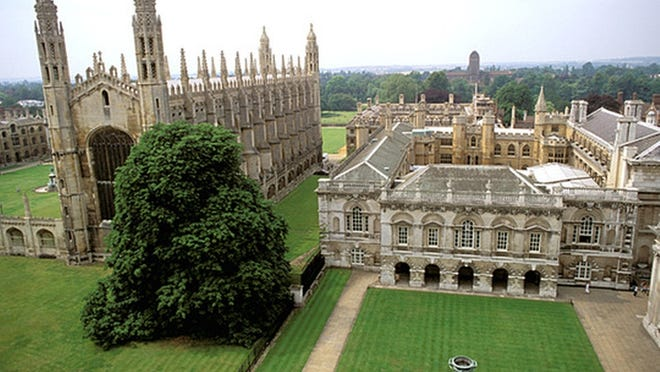 In April 1592, at age 17, John Robinson began his studies at Cambridge. He was immersed in academic study for 12 consecutive years, attaining a Bachelor's degree, a Master's and serving as Fellow of Corpus College for five years -- remarkable achievements for his time.