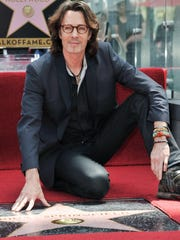 """80s pop heartthrob and former ""General Hospital"" star Rick Springfield performs at  Stars & Stripes on Friday."