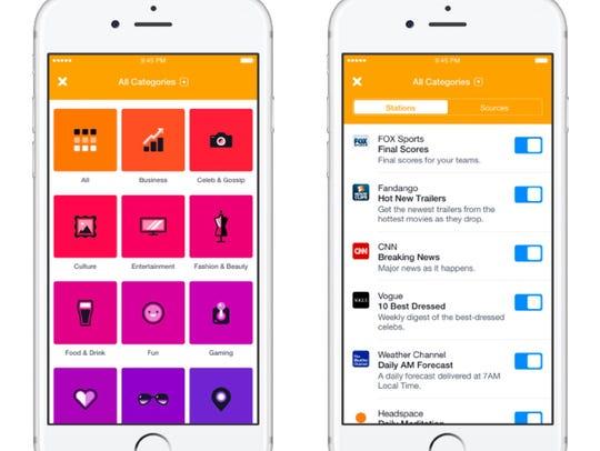 Facebook's new Notify app