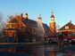Mutiple crews battle a fire at Church of St. Mary in