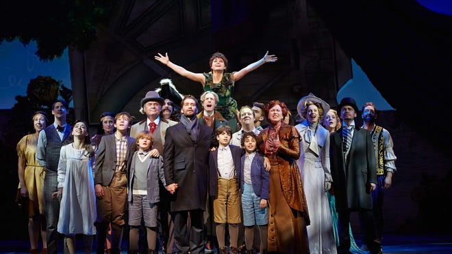 """The cast of """"Finding Neverland."""""""