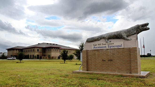Ascension Episcopal School is seen in Youngsville.