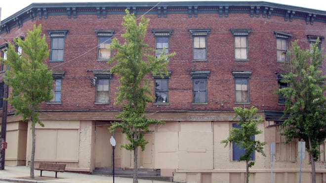 The Town of Putnam is proposing buying this long-vacant building at 88 Main St.