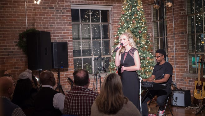 The Kylie Odetta Christmas Concert was held at the Upper Room in beautiful Downtown Greenville and it was the perfect atmosphere for the holiday benefit. The Greenville native has always had a heart for giving back especially for those with special needs. The event featured a beautiful holiday setting, sweet treats and live music from Kylie and other featured artists. All proceeds from the concert benefited the Barbara Stone Foundation which helps individuals with special needs first to survive and then to thrive.