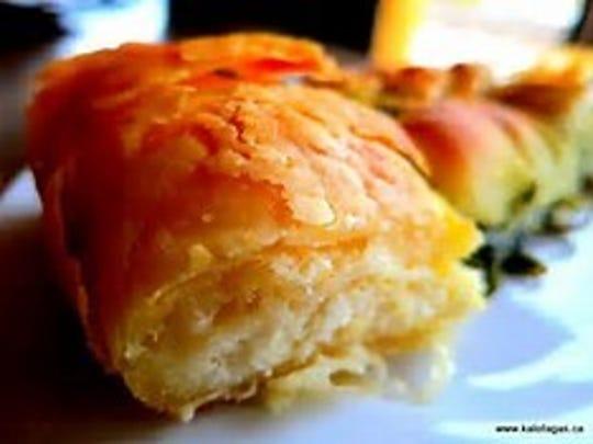 Tiropita, a Greek Cheewse Pastry