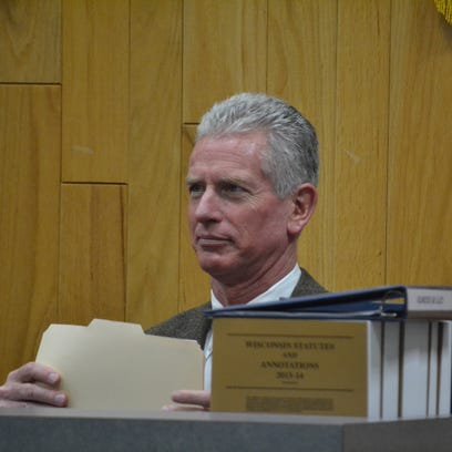 Oconto County Court Commissioner Frank Calvert suspended for misconduct