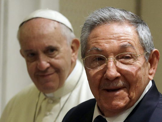 Raul Castro Pope Francis Meeting