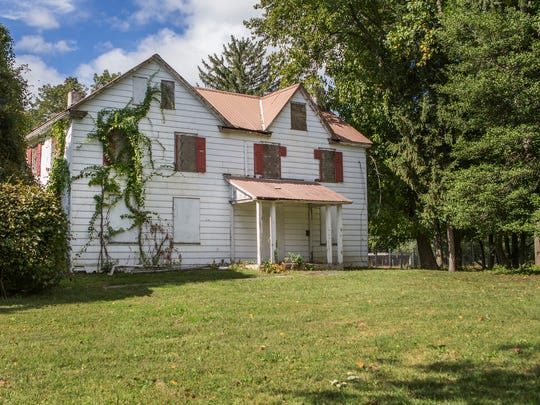A historic farmhouse in Jester Park in Brandywine Hundred has since been renovated into an art space.