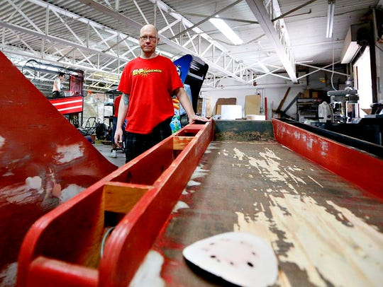 Co-owner Gene Goodman talks about refurbishing Skeeball