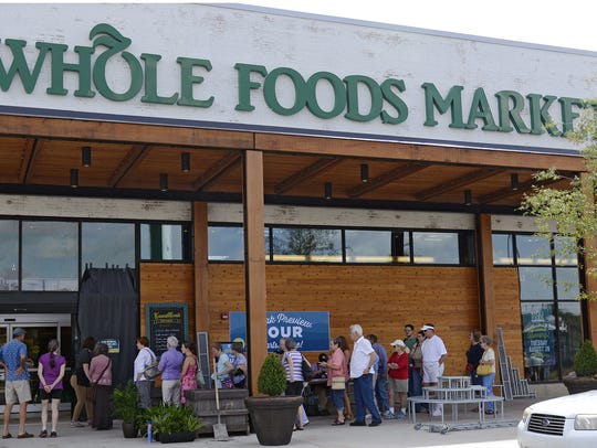 The Whole Foods Market on Tunnel Road.