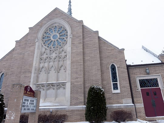 St. Paul's United Church of Christ Wednesday, Jan 17, 2018. Bill Kalina photo